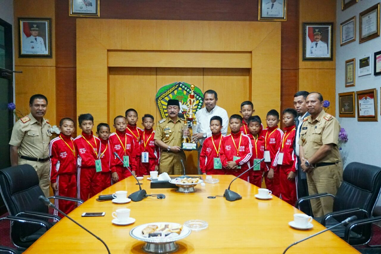 Tim SSB Syekh Yusuf  Gowa Wakil Sulsel