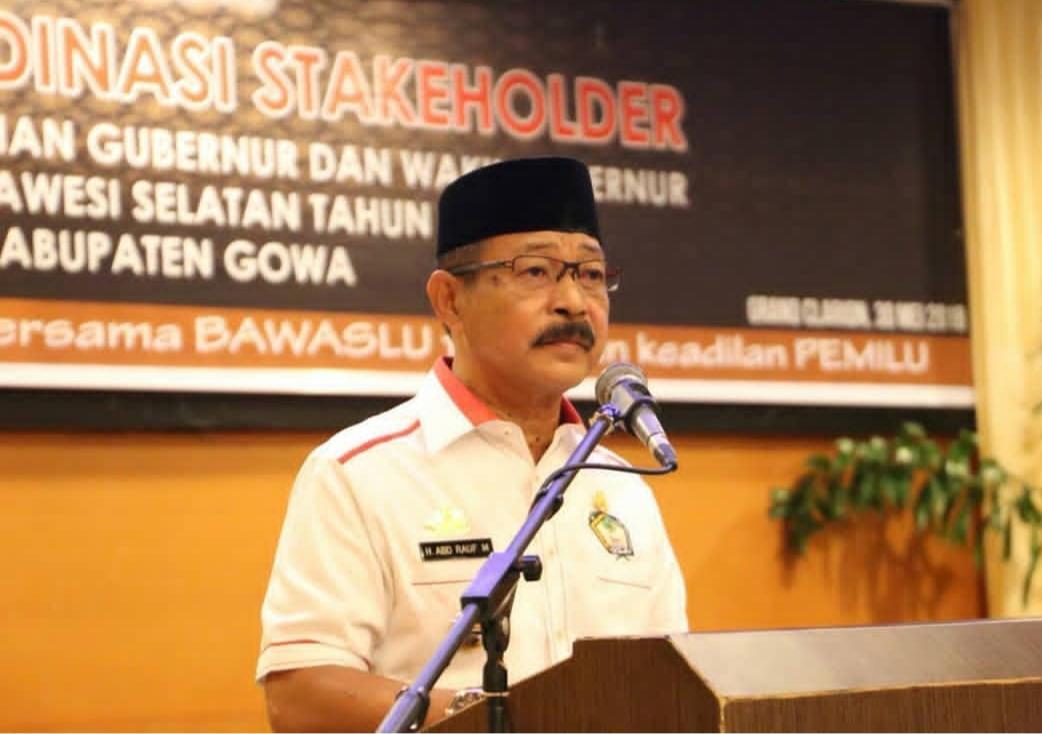 Wabup Gowa Ajak Masyarakat Sukseskan Pilkada 2018