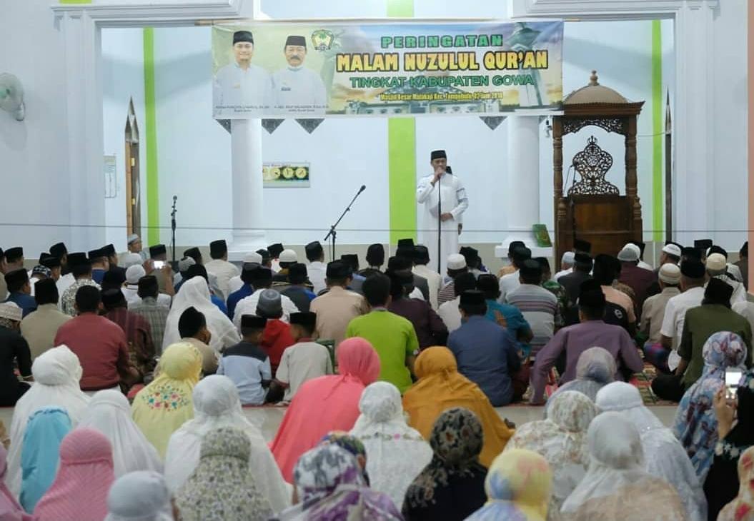 Peringati Nuzul Qur'an di Tompobulu, Ini Kata Adnan