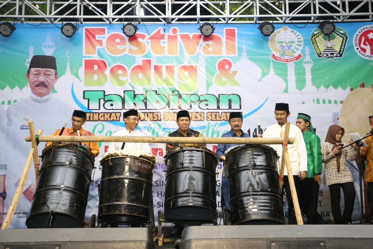 Festival Bedug Gowa Dibuka, Hadiah Juara Pertama Capai Rp 30 Juta