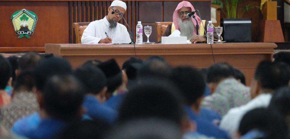 Ulama Besar Arab Saudi Puji Program Pemkab Gowa