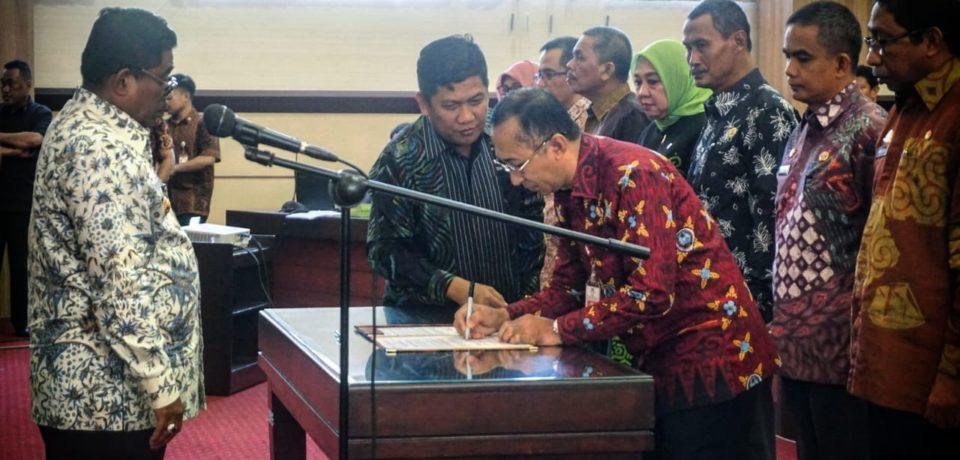 Sekda Gowa dilantik Sebagai Ketua Umum Forsesdasi