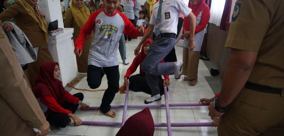 Hari Anak Nasional Tingkat Kabupaten Gowa hadirkan Permain Tradisional