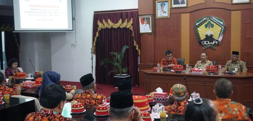 Kunker di Gowa, Pemkot Salatiga Puji Program Kabupaten Gowa