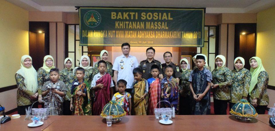 72 Anak ikuti Khitanan Massal di RSUD Syekh Yusuf