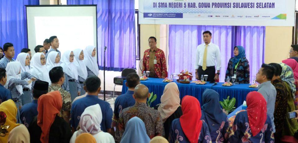 Tim Penilai LSS Nasional Kunjungi SMAN 5 Gowa, Adnan Turut lakukan Penyambutan
