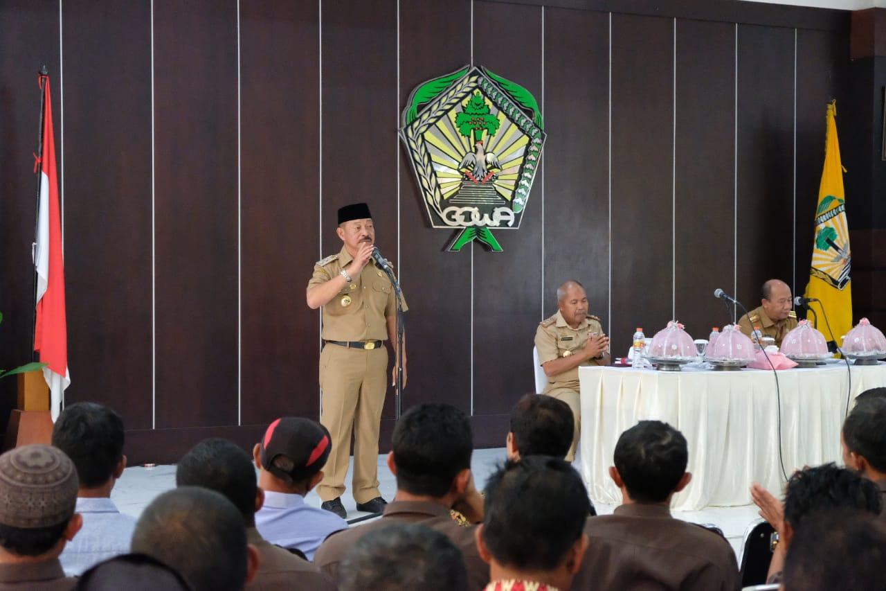 Jelang Pilkades Serentak, Dinas PMD Gowa gelar Sosialisasi Pemilihan