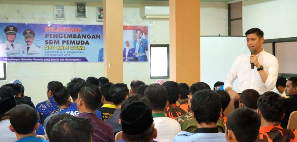 Ketua KNPI GOWA : Kami Bangga Dipimpin Pak Adnan