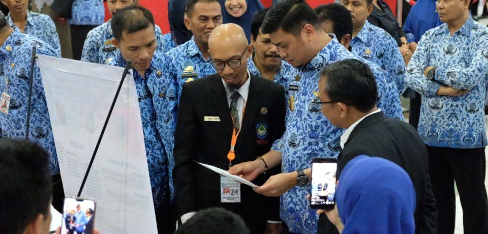 Adnan Tinjau Seminar Rancangan Proyek Perubahan Diklat PIM IV