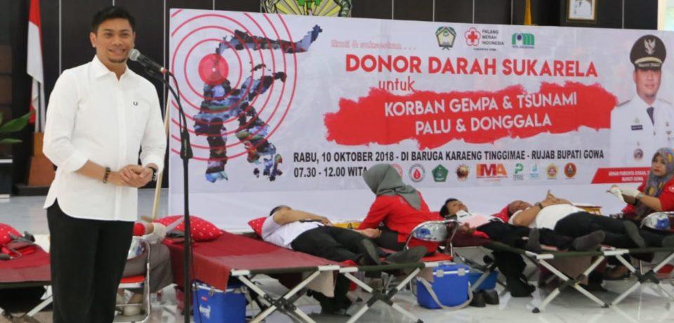 Gelar Donor Darah Sukarela, Pemkab Gowa Target Hingga 200 Kantong