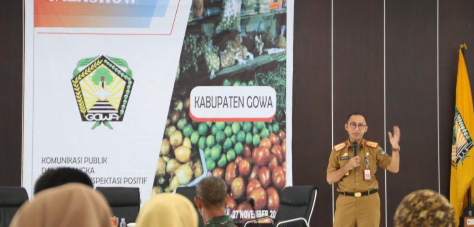 Tekan Laju Inflasi di Gowa, Bappeda Gowa Gelar Talkshow