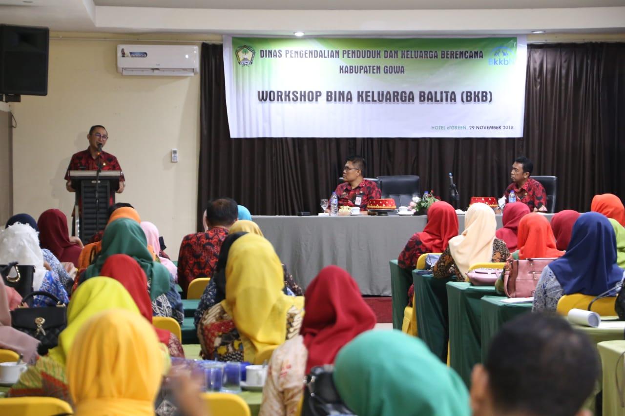 Sekkab Gowa Harap Peserta Workshop Kembangkan Inovasi