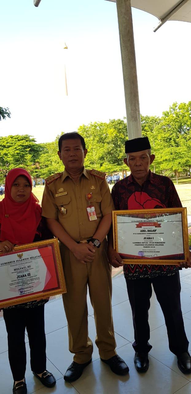 GP3A Kabupaten Gowa Raih Juara Pertama di Tingkat Prov Sulsel