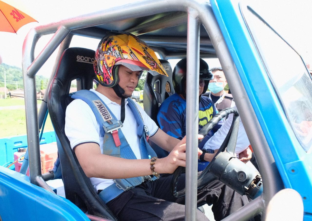 Adnan Harap Gowa Sprint Off Road Dilaksanakan Sesering Mungkin