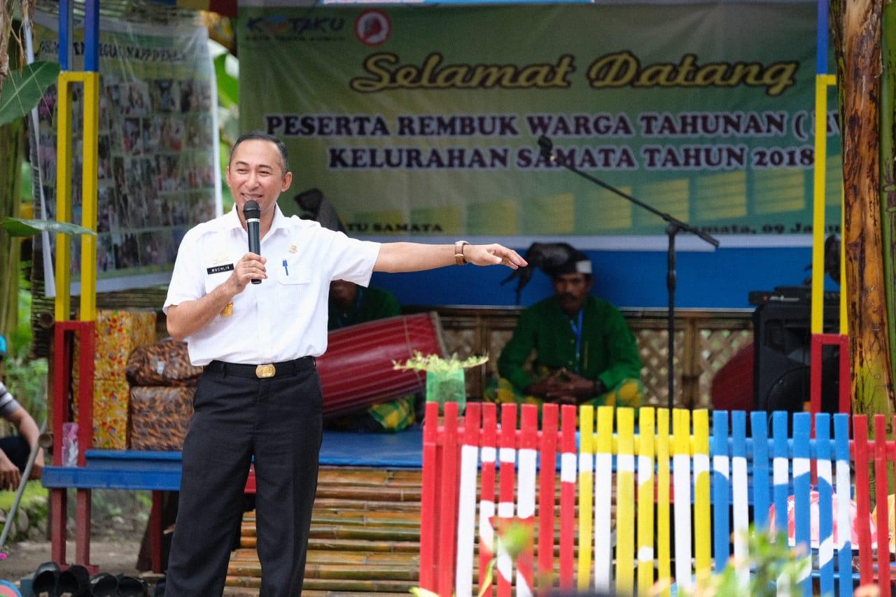 2019, Sekda Gowa Harap BKM Bersatu Samata Lahirkan Program Kreatif
