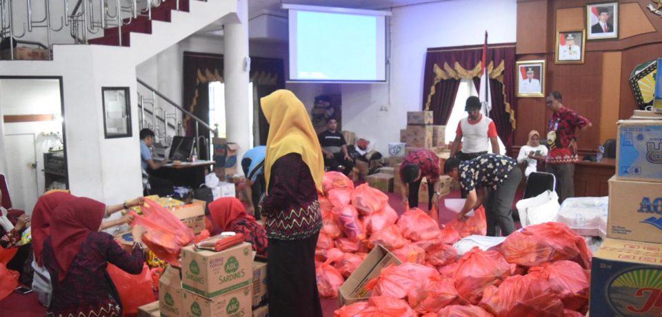 Orang Tak Bertanggung Jawab Serang Posko Induk Soal Isu Pengambilan Biskuit