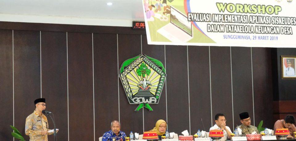 Pemkab Gowa Dinilai Miliki Komitmen Tinggi Dukung Implementasi Siskeudes