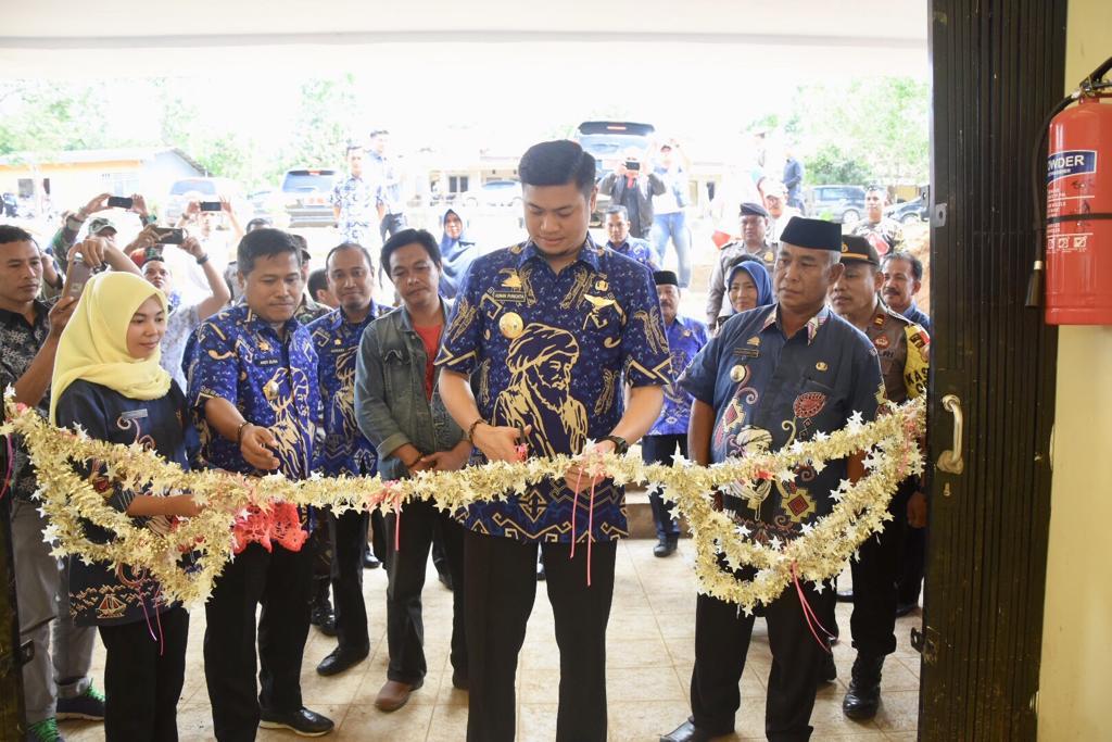 Dianggarkan Rp5,6 M, Adnan Resmikan Langsung Pasar Tamaona