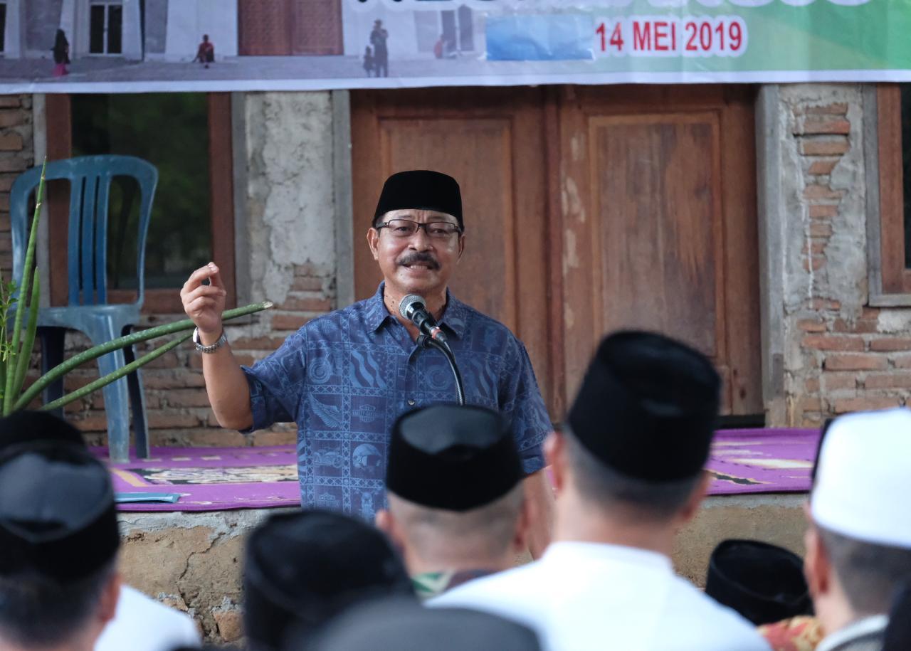 Wabup Gowa Safari Ramadhan di Kampung Halaman
