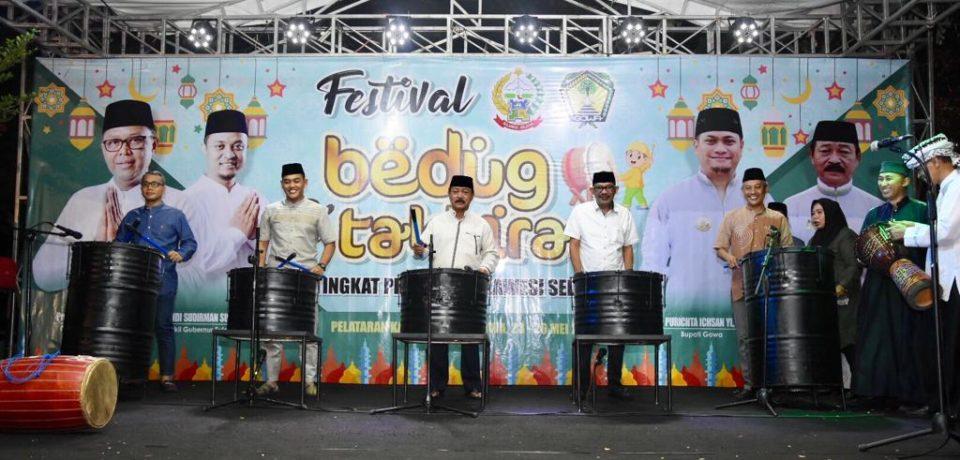 68 Peserta Ramaikan Festival Bedug dan Takbiran Pemkab Gowa