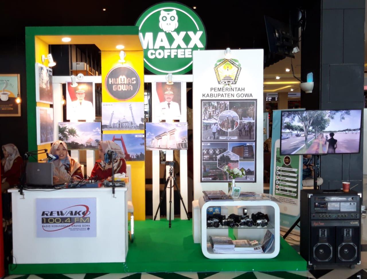 Humas Gowa Kenalkan Rencana Pembangunan Daerah di Humas Expo Sulsel 2019