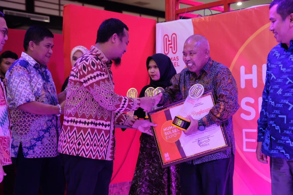 Humas Gowa Raih Dua Penghargaan di Ajang Humas Sulsel Expo 2019
