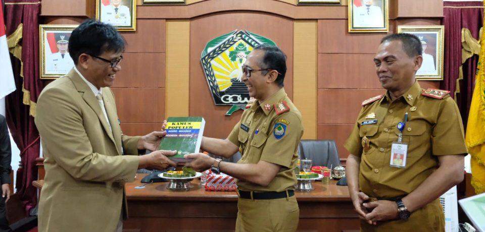 Sekkab Terima Kunjungan Benchmarking Prov Jawa Timur