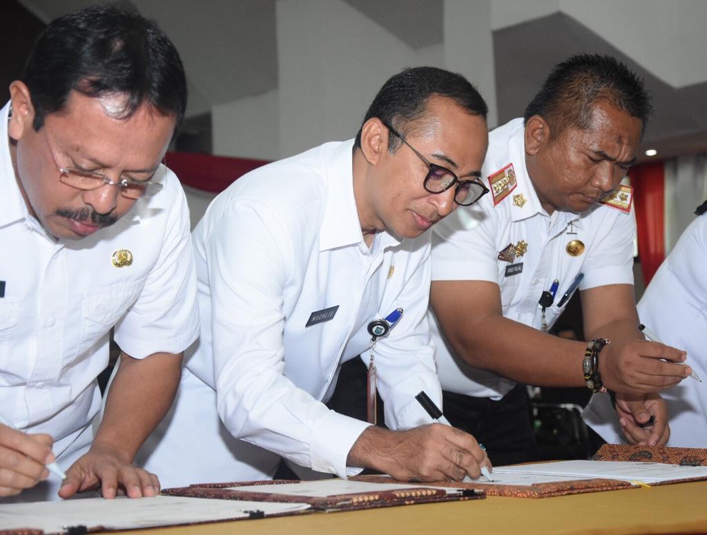 Jalin Kerjasama Dengan Ombudsman, Sekkab Gowa Optimis Raih Zona Hijau