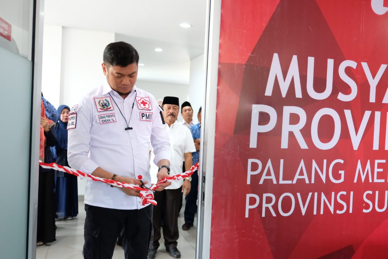 Aula DR Ichsan Yasin Limpo Lambang Dedikasi untuk PMI Sulsel