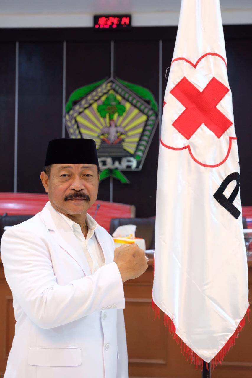 Wabup Gowa Jabat Ketua PMI Gowa 2018-2023