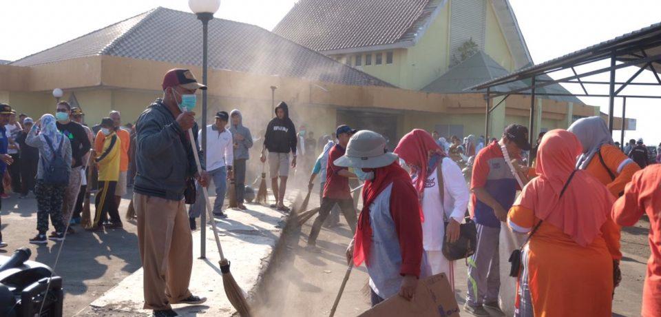 Gowa Lakukan Aksi Bersih Pada Ratusan Titik Diperingatan WCD