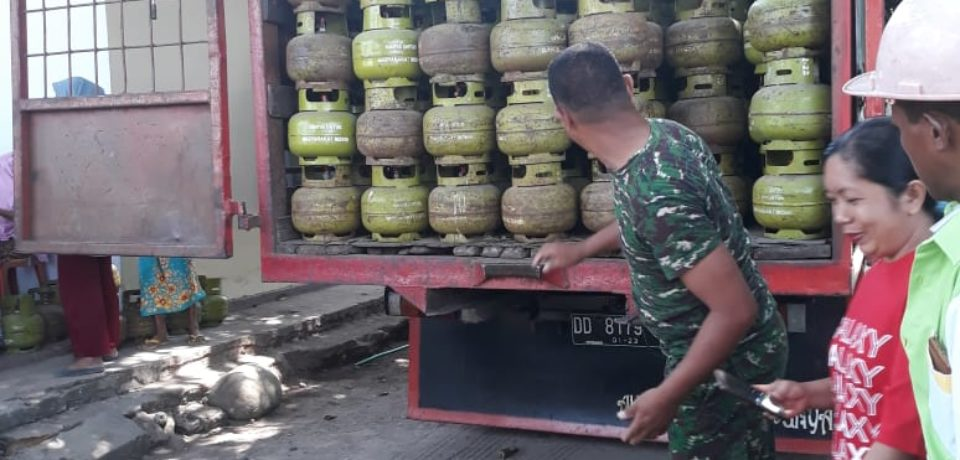 Penuhi Kebutuhan Gas Elpiji Masyarakat, Disperdastri Gowa Gelar Operasi Pasar