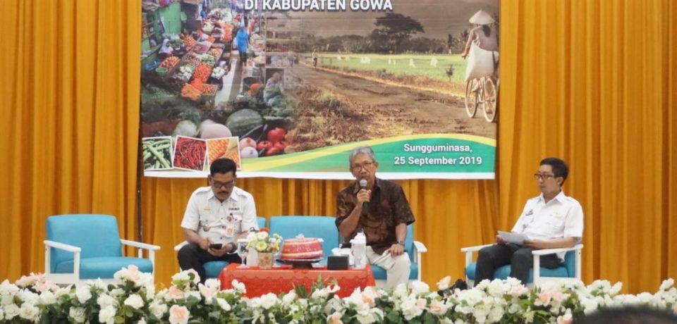 Bappeda Gowa Talkshow Tingkatkan Hasil Pertanian