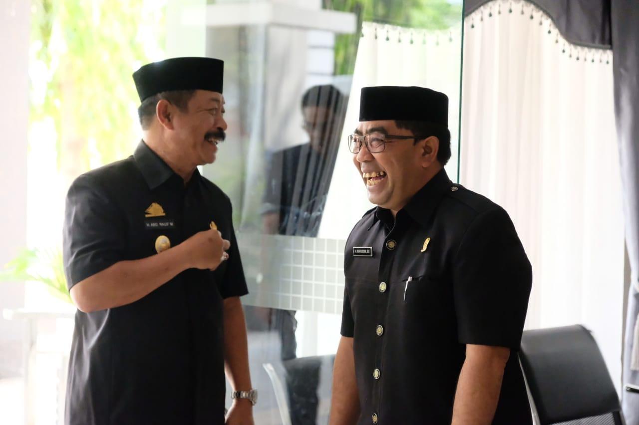 Fraksi dan Pimpinan DPRD Ditetapkan, Wabup Gowa harap Terus Bersinergi