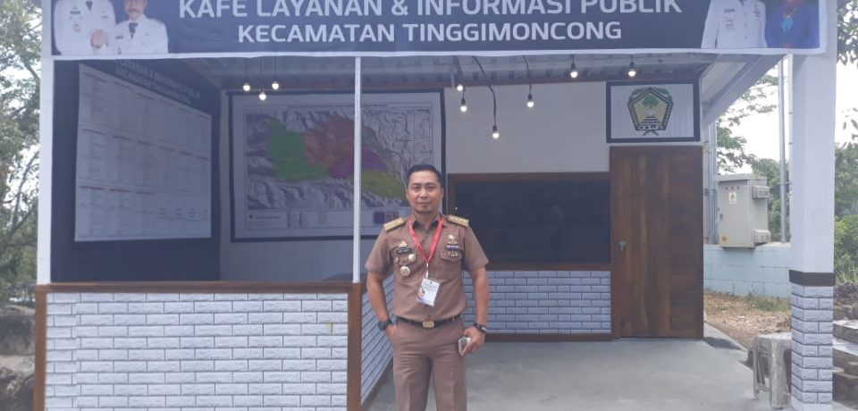 Kafe Layanan Kecamatan Tinggimoncong Mudahkan Pengunjung Dapatkan Informasi