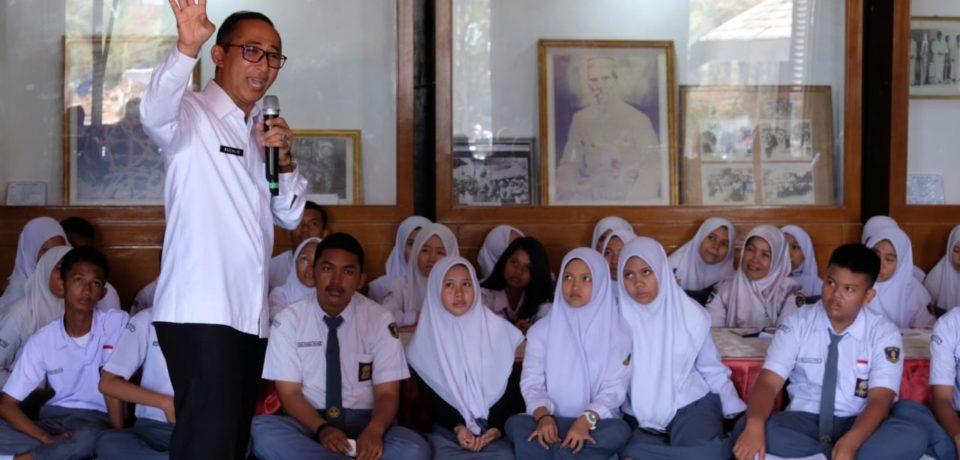 150 Siswa Siswi Gowa Mengikuti Kegiatan Belajar Di Museum