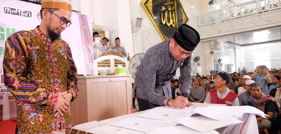 Bentuk Generasi Penghafal Alquran, Pemkab Gowa Resmi Programkan 1 Hafidz/1 Desa