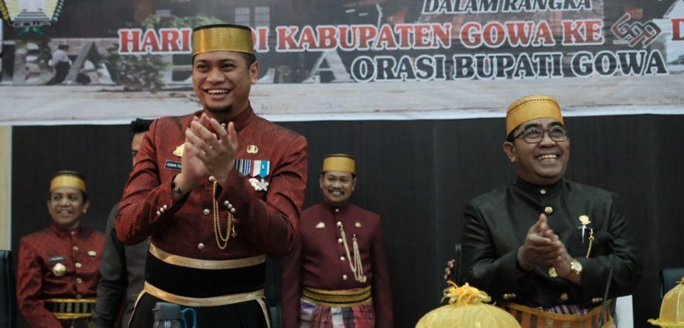 Peringati HJG ke-699, DPRD Puji Capaian Pemkab Gowa