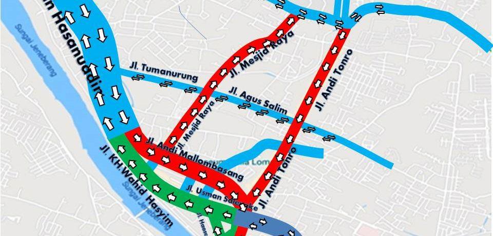 Pemkab Gowa akan Ujicoba Sistem Satu Arah di Kota Sungguminasa Demi Kurangi Kemacetan