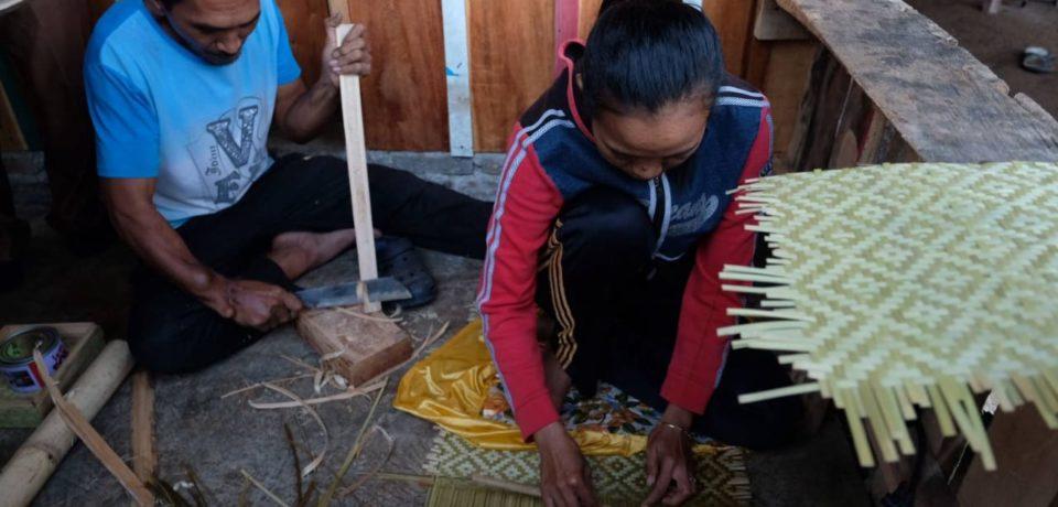 Rendy, Penyandang Disabilitas Namun Hasilkan Kerajinan Bambu Berkualitas