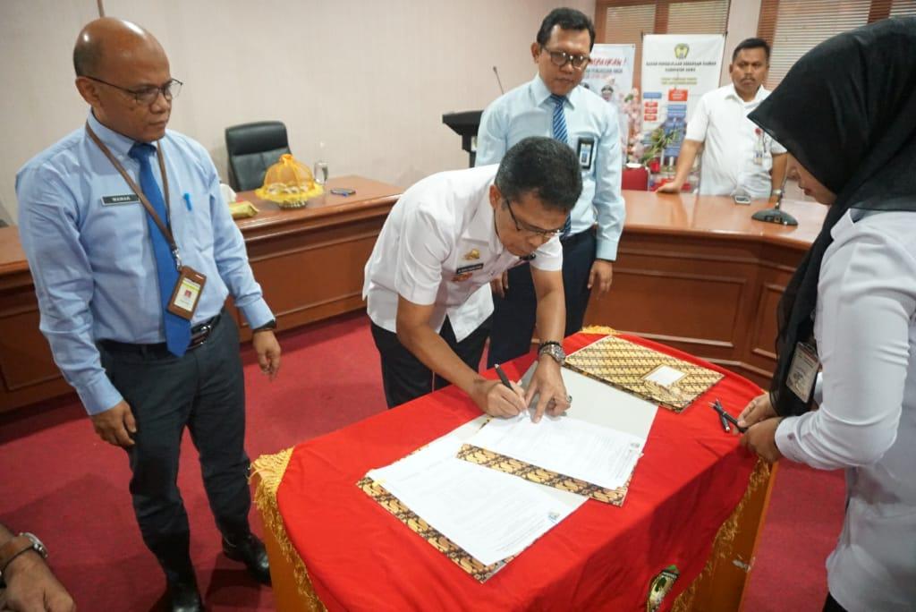 Pemkab Gowa-KPPN Makassar dan KPP Pratama Bantaeng Teken Berita Acara Rekonsiliasi