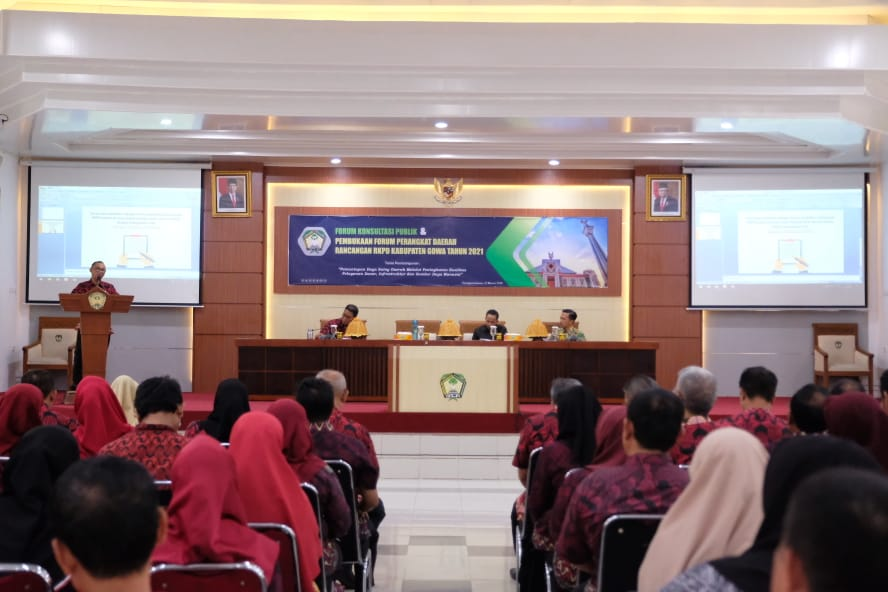 Buka Forum Rancangan RKPD, Sekda Harap Program Terintegrasi Dengan RPJMD Gowa