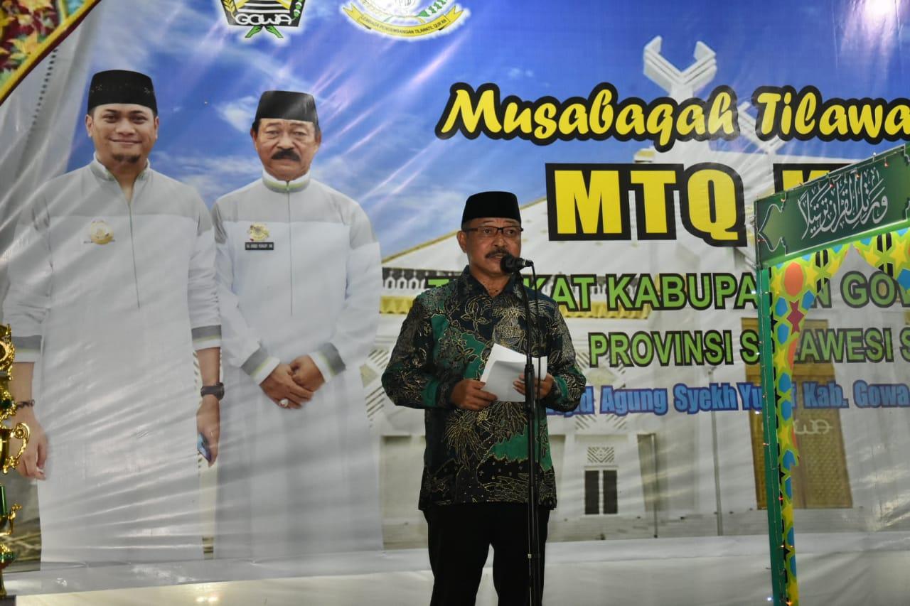 Tutup MTQ Ke-43, Wabup Gowa Harap Lahirkan Qari dan Qariah Terbaik