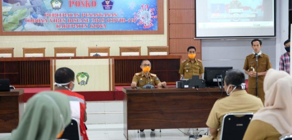 Posko Induk Pemkab Gowa Siap Siaga Selama Masa Penanganan Covid-19