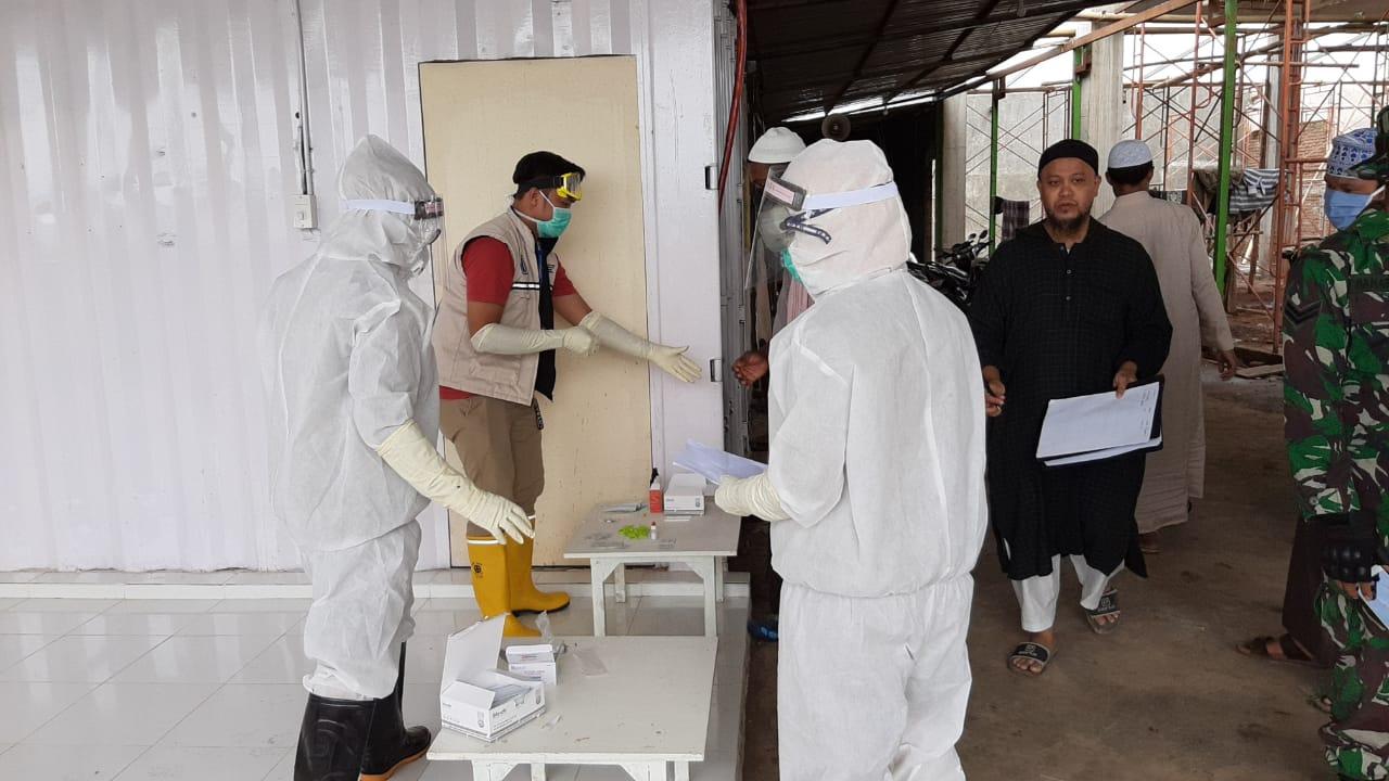 24 Jama'ah Tabligh Asal India di Kabupaten Gowa Jalani Rapid Test