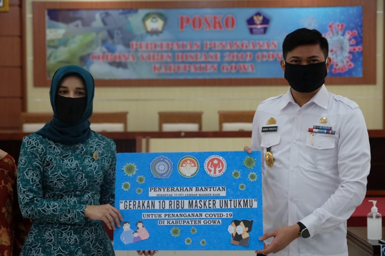 Gerakan 10 Ribu Masker Lebihi Target, Priska: Siap Dibagikan ke Kelompok Rentan
