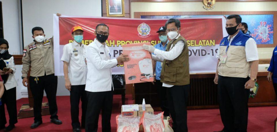 Pemkab Gowa Terima Bantuan Pangan, APD dan Masker dari Pemprov Sulsel