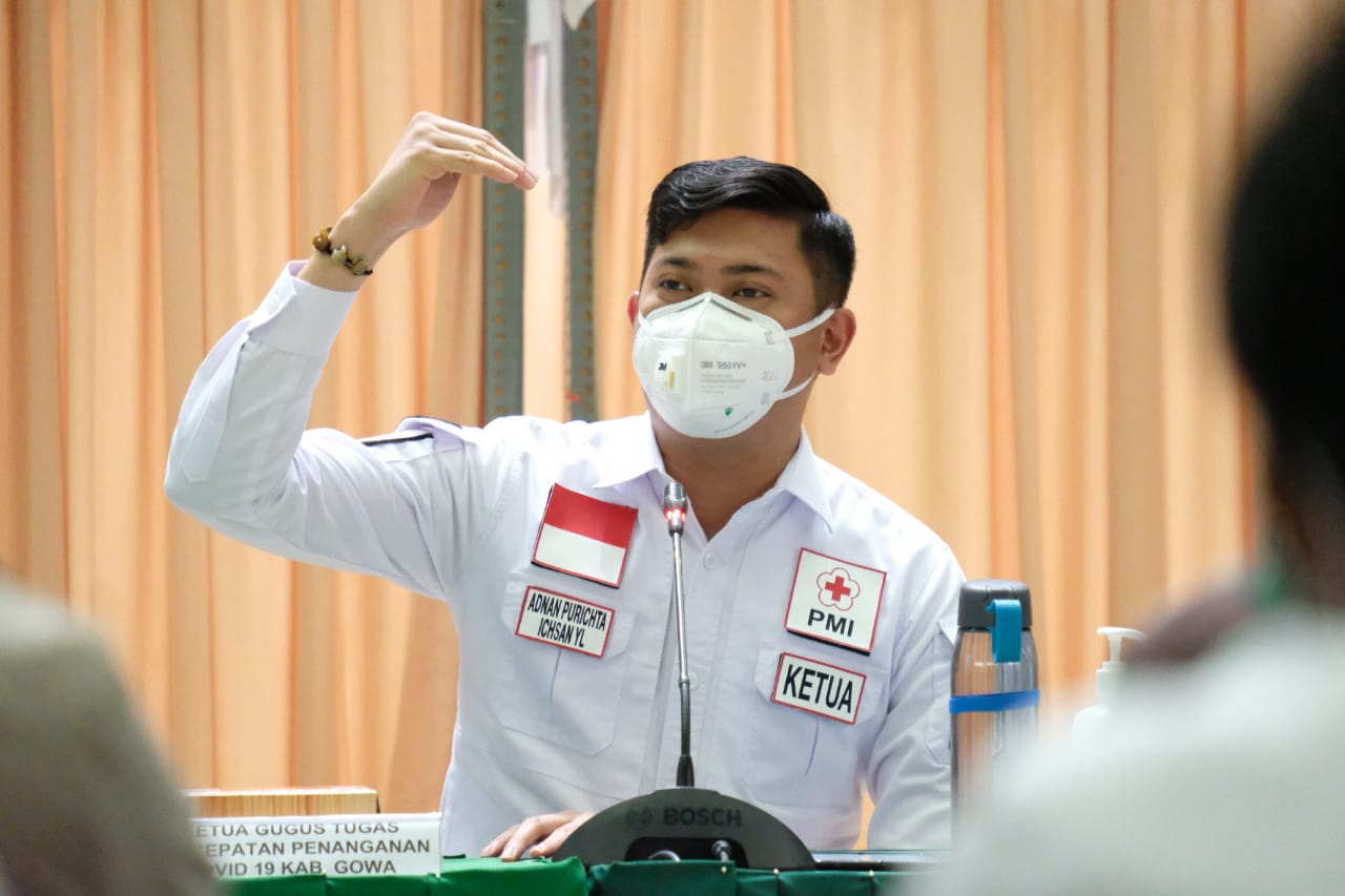 Bupati Adnan Dukung Makassar Terapkan PSBB
