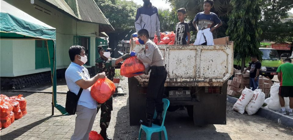 50.000 Paket Sembako Mulai Didistribusikan ke Masyarakat Gowa