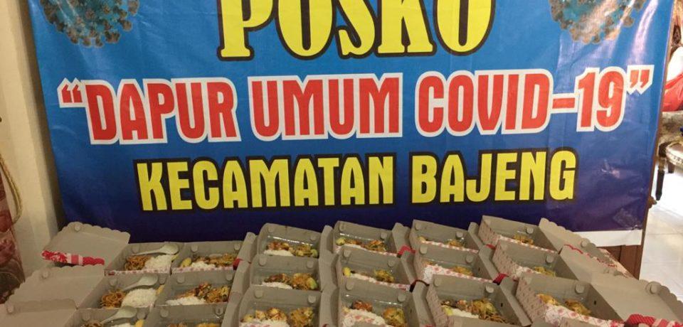 Bahan Makanan di Dapur Umum Bajeng Berdayakan Pedagang Kecamatan Bajeng